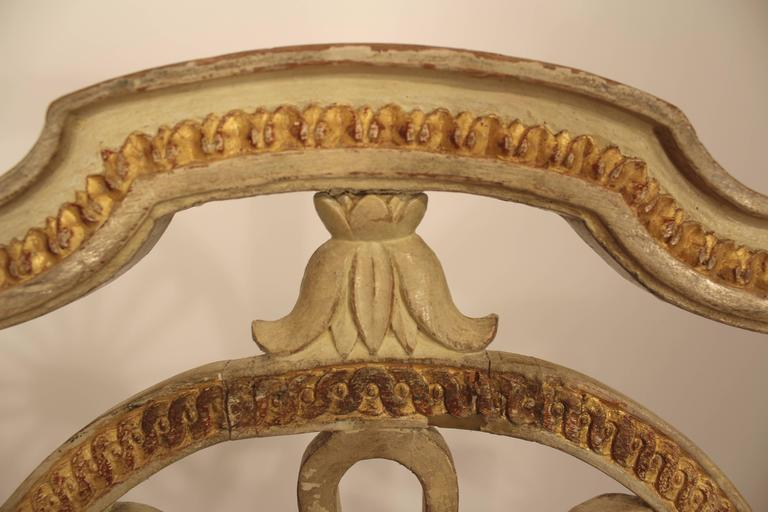 Swedish Set of Four Gustavian Chairs For Sale