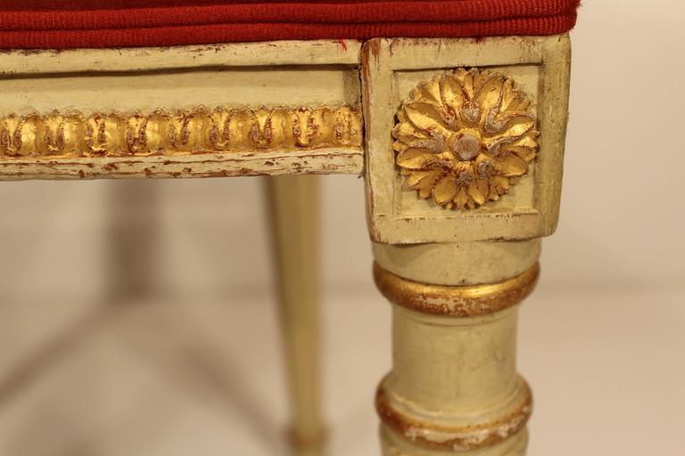 Set of Four Gustavian Chairs For Sale 1