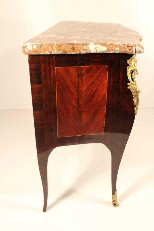 Kingwood 18th Century Louis XV Commode For Sale