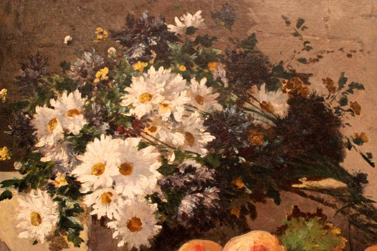 19th Century Still Life Painting In Good Condition For Sale In Belmont, MA