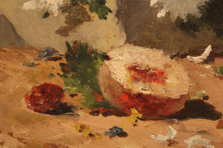 Late 19th Century 19th Century Still Life Painting For Sale