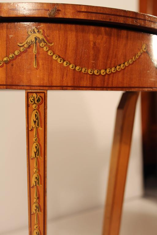 19th Century Sheraton Style Working Table For Sale 2