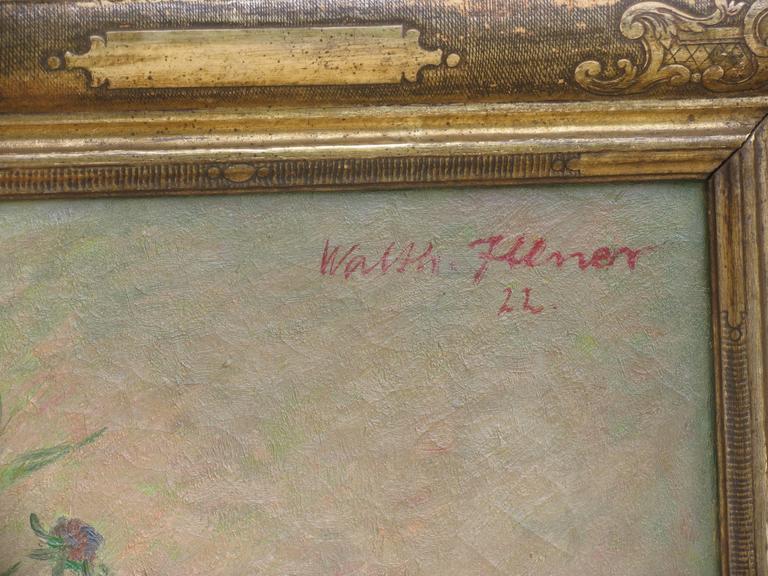 Jugendstil Walter Illner Painting For Sale