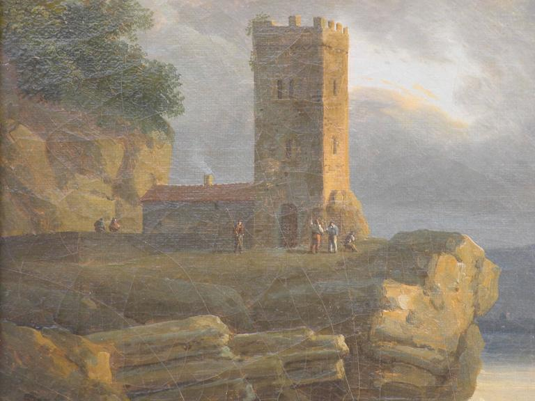 French 18th-19th Century Pair of Paintings For Sale