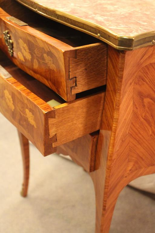 Veneer 19th Century Small Commode, France For Sale