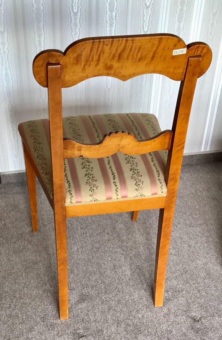 Scandinavian Set of Six Gustavian Chairs, Sweden, 1830 For Sale