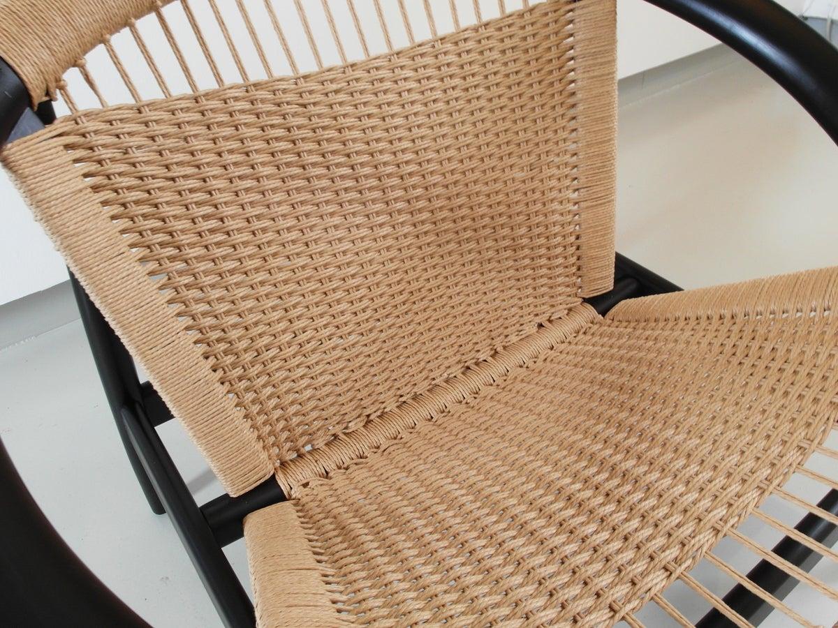 Illum Wikkelsø Easy Chair Ringstol Model 23 for Niels Eilersen ...