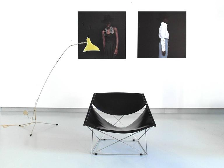 Metal Pierre Paulin Butterfly Easy Chair for Artifort Holland, 1963 For Sale