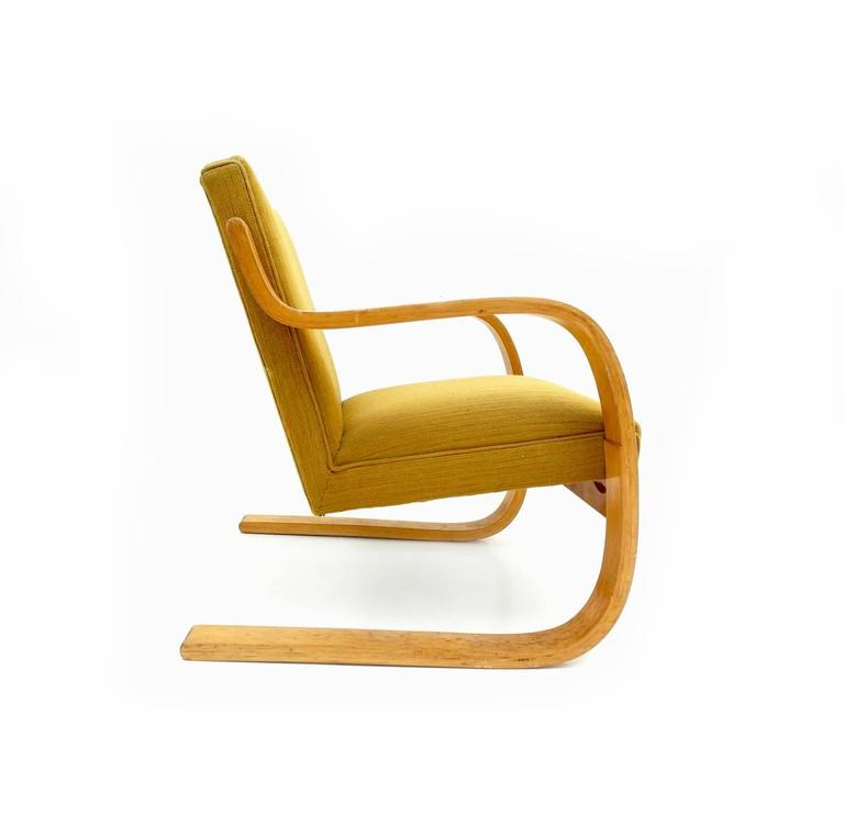 Early Alvar Aalto Model 402 Chair For Artek Finland With