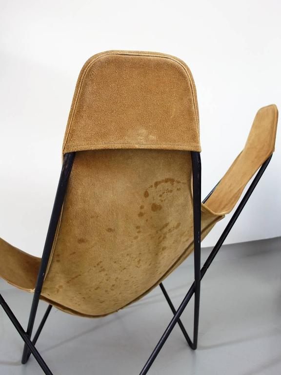 Butterfly Chair By Jorge Ferrari Hardoy For Knoll For Sale 2