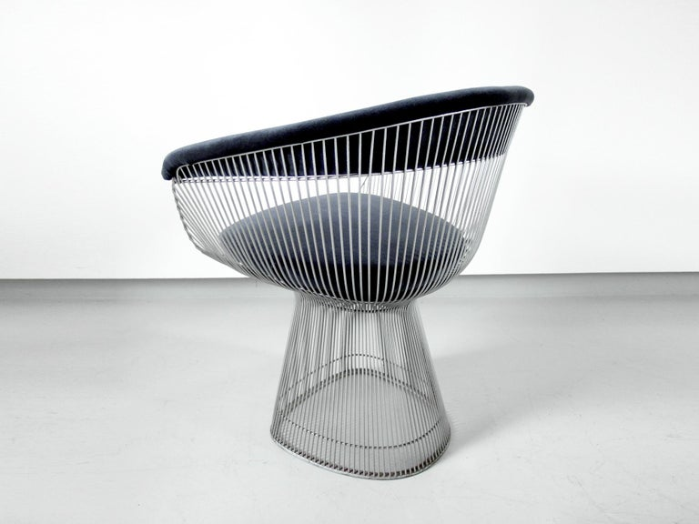 Late 20th Century Original 1970s Edition Armchair Designed by Warren Platner for Knoll, 1966 For Sale