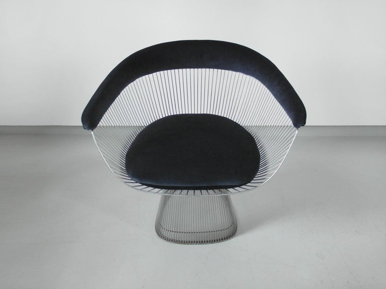 Italian Original 1970s Edition Armchair Designed by Warren Platner for Knoll, 1966 For Sale