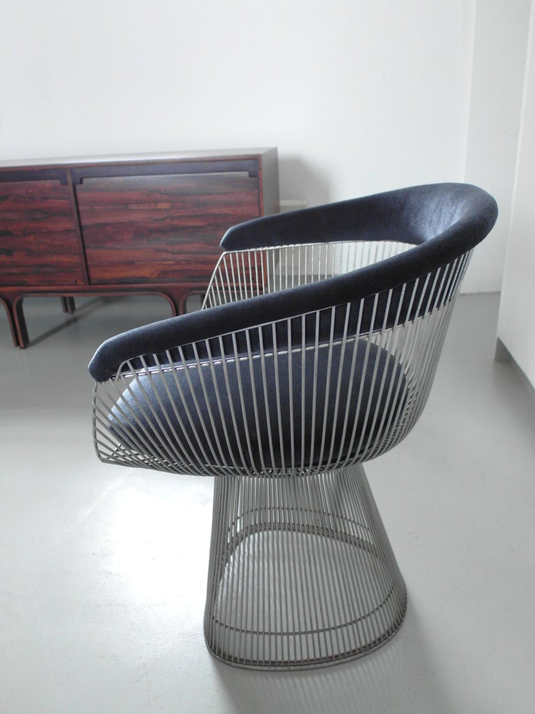 Original 1970s Edition Armchair Designed by Warren Platner for Knoll, 1966 For Sale 4