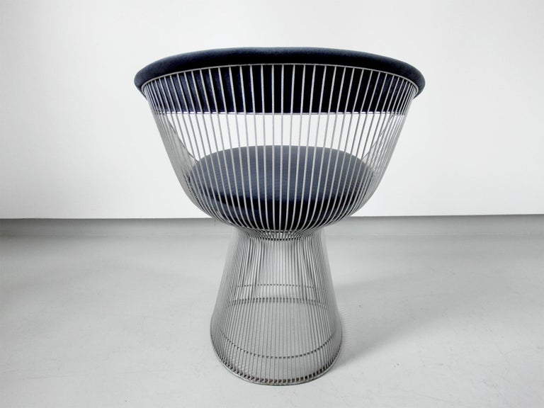 Original 1970s Edition Armchair Designed by Warren Platner for Knoll, 1966 In Good Condition For Sale In Woudrichem, NL