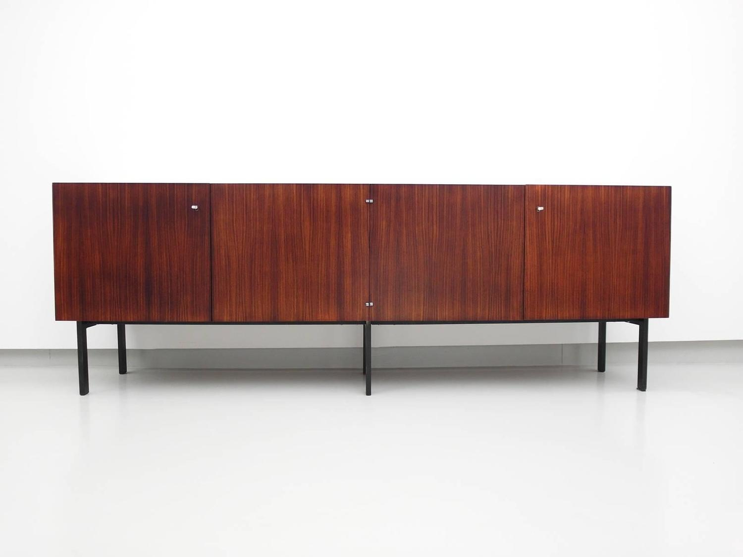 rosewood sideboard attributed to etienne fermigier for