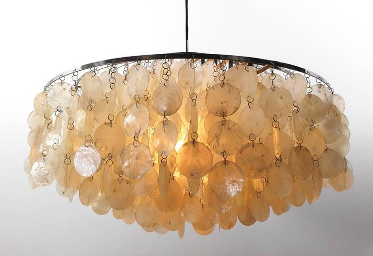Vintage Pendant Light Fun 11dm By Verner Panton Manufactured Frandsen Lighting Denmark