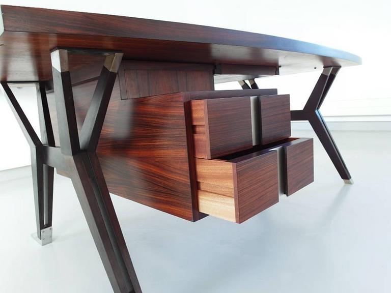 Italian Ico Parisi Terni Executive Desk for Mim Roma, Italy, 1958 For Sale