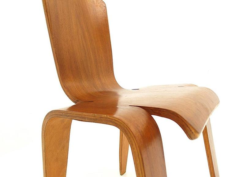 Han Pieck Plywood Bambi Chair Rare and Early Dutch Design, the Netherlands, 1946 For Sale 1