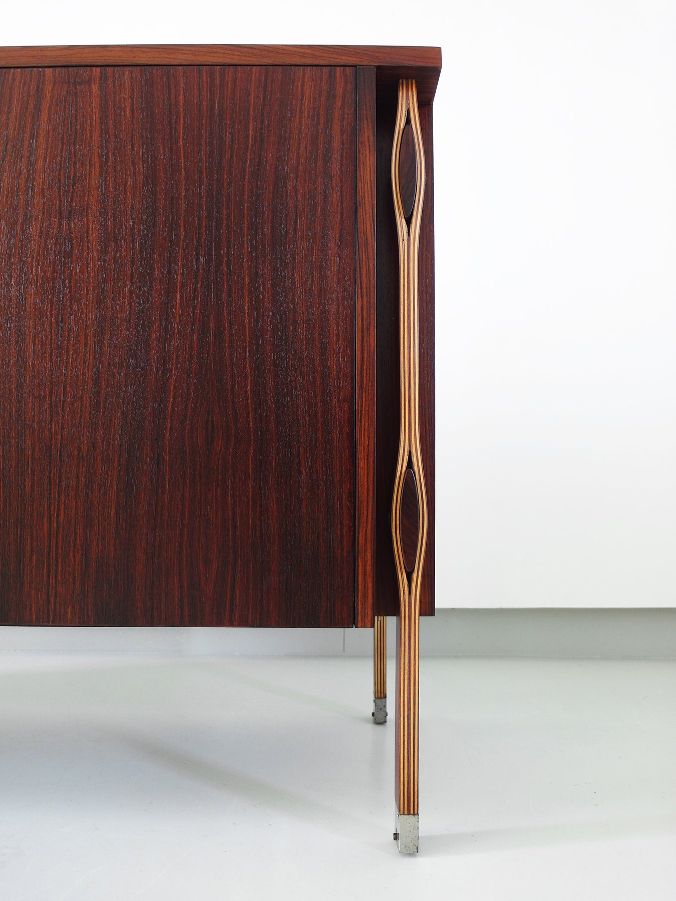 Ico And Luisa Parisi Rosewood Taormina Credenza For Mim Roma,