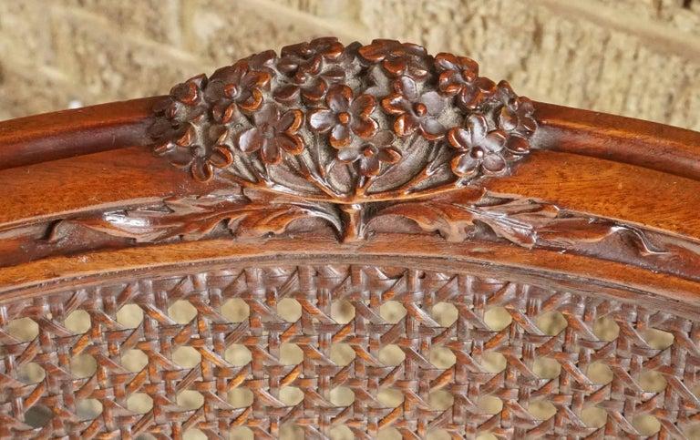 Louis Majorelle Attributed Art Nouveau Desk Armchair, 1900 6