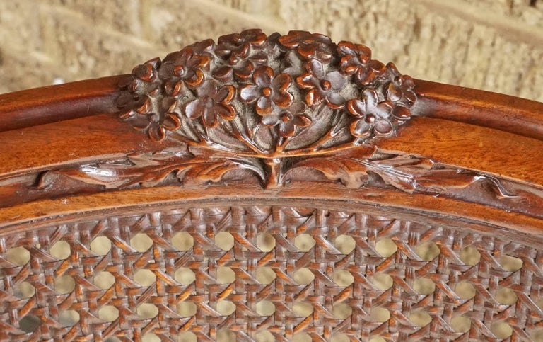 Early 20th Century Louis Majorelle Attributed Art Nouveau Desk Armchair, 1900 For Sale