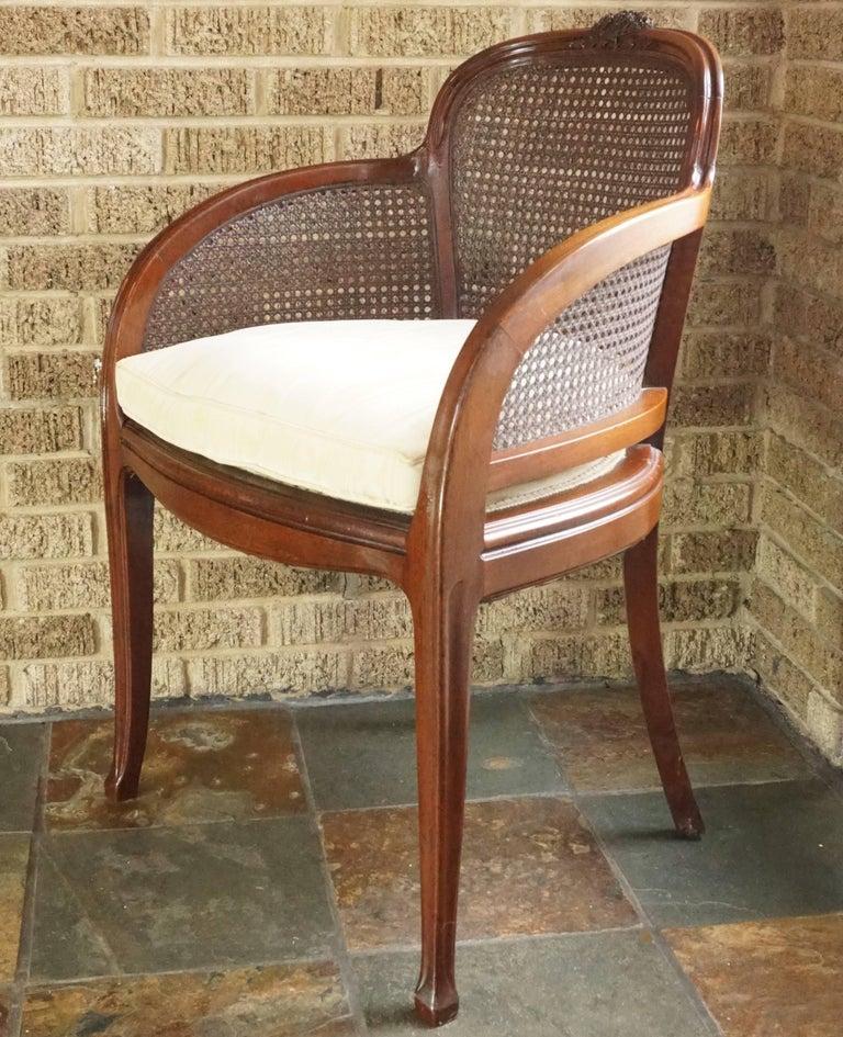 Louis Majorelle Attributed Art Nouveau Desk Armchair, 1900 4