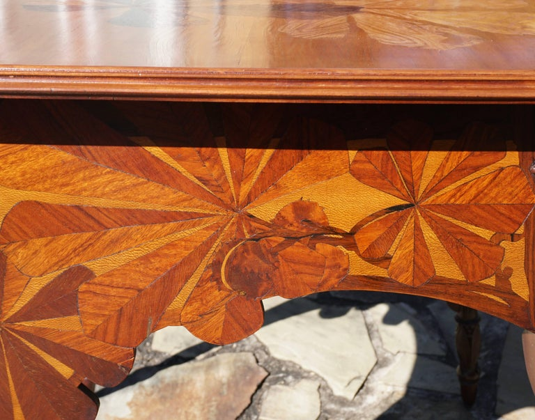 Louis Majorelle Signed French Art Nouveau Game Table, circa 1900 For Sale 2