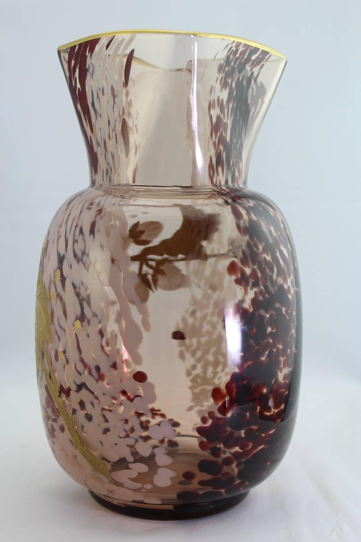 Ernest Baptiste L 233 Veill 233 Paris Circa 1900 Art Glass Vase At 1stdibs