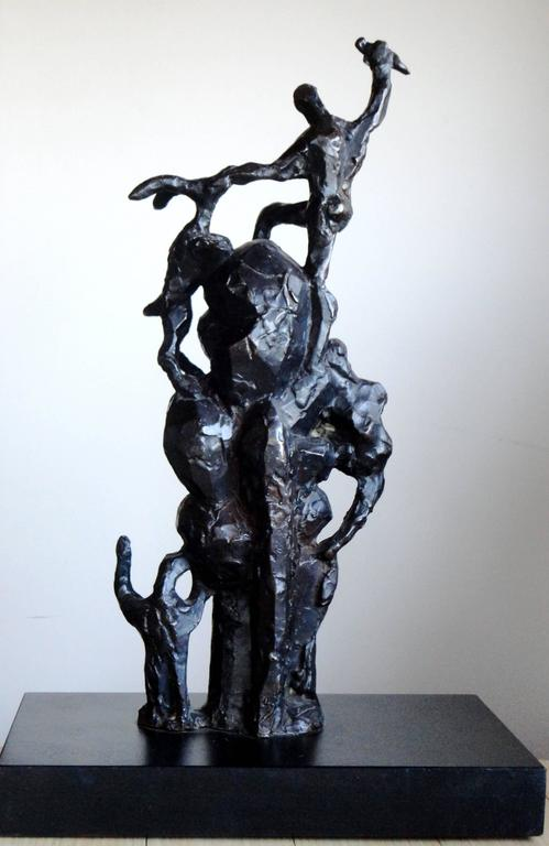 Modern Jacques Lipchitz Bronze Sculpture