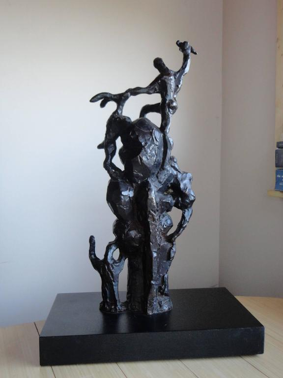 American Jacques Lipchitz Bronze Sculpture