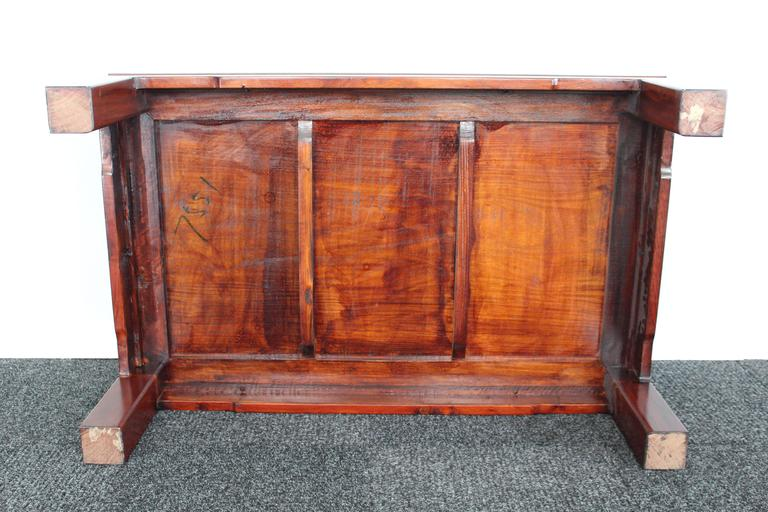 Mid-Century Chinese Rosewood Coffee Table For Sale 4