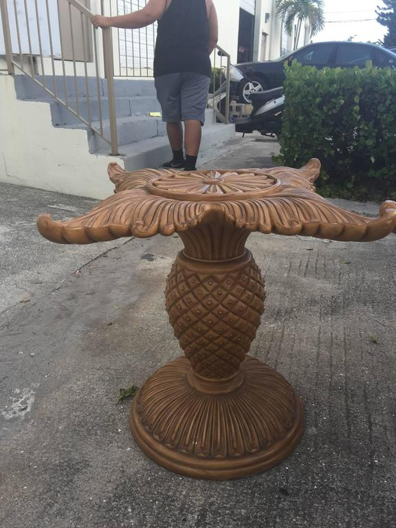 Pair of Wood Carved Pineapple Dining Table or Desk Bases  : image1459457524292l from www.1stdibs.com size 576 x 768 jpeg 74kB