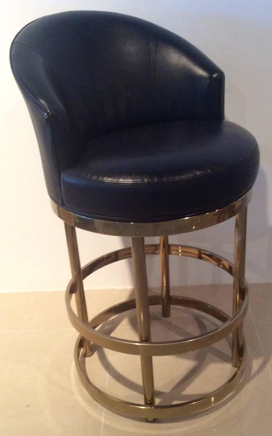 Swivel Bar Stools For Kitchen Island Brass Swivel Counter