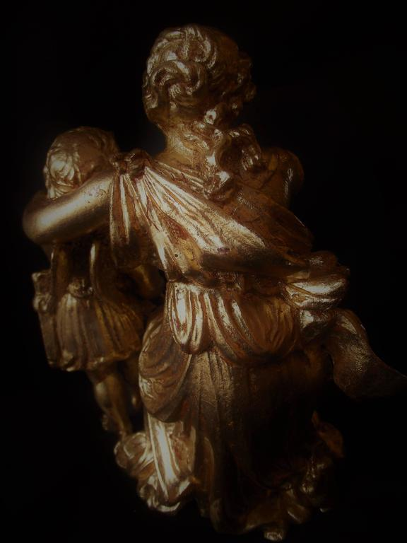 Classic Sculpture Of Aphrodite And Cupid Valentines Gift