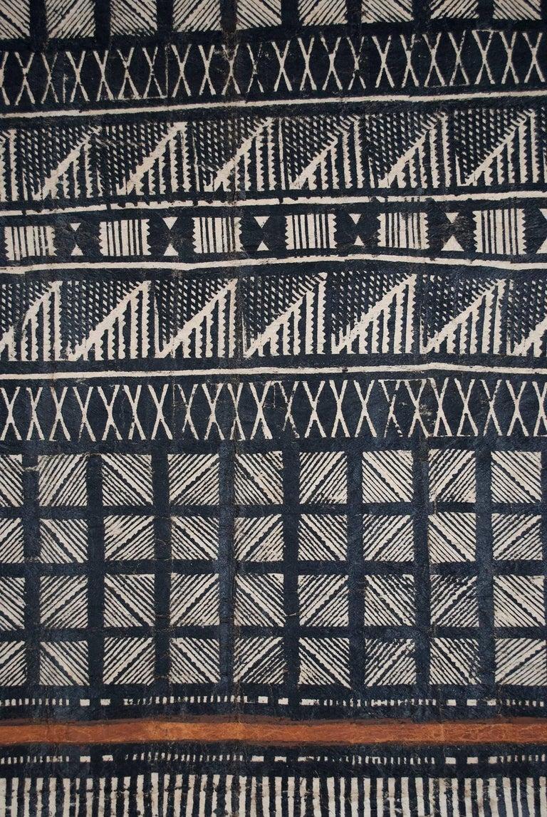 Fijian Mid-20th Century Tribal Tapa Cloth, Fiji For Sale