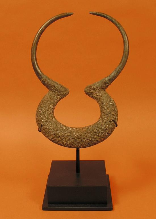 Chadian 20th Century Tribal Armband Currency, Kenga Culture, Chad, Africa For Sale