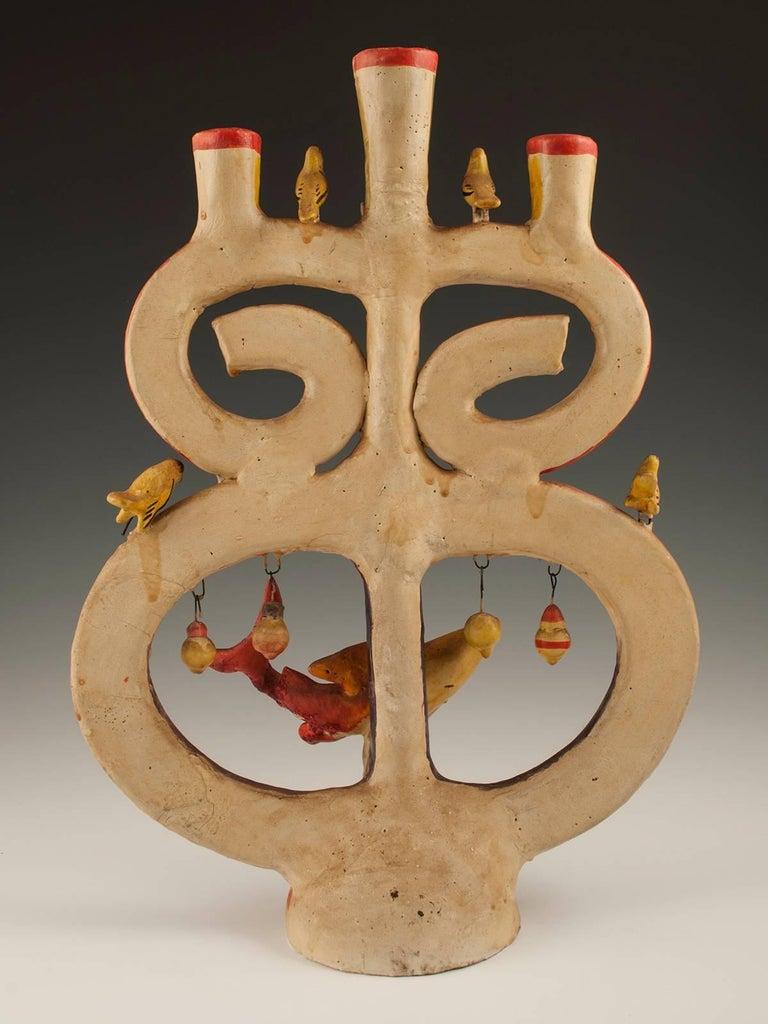 Midcentury Folk Art Candelabra By Aurelio Flores Izucar