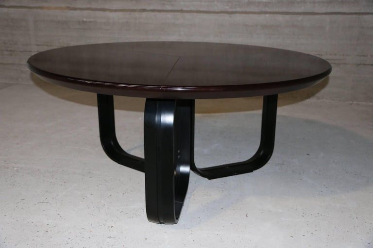 Mid-Century Modern MIM Dining Table Ico Parisi, 1970s, Italy For Sale
