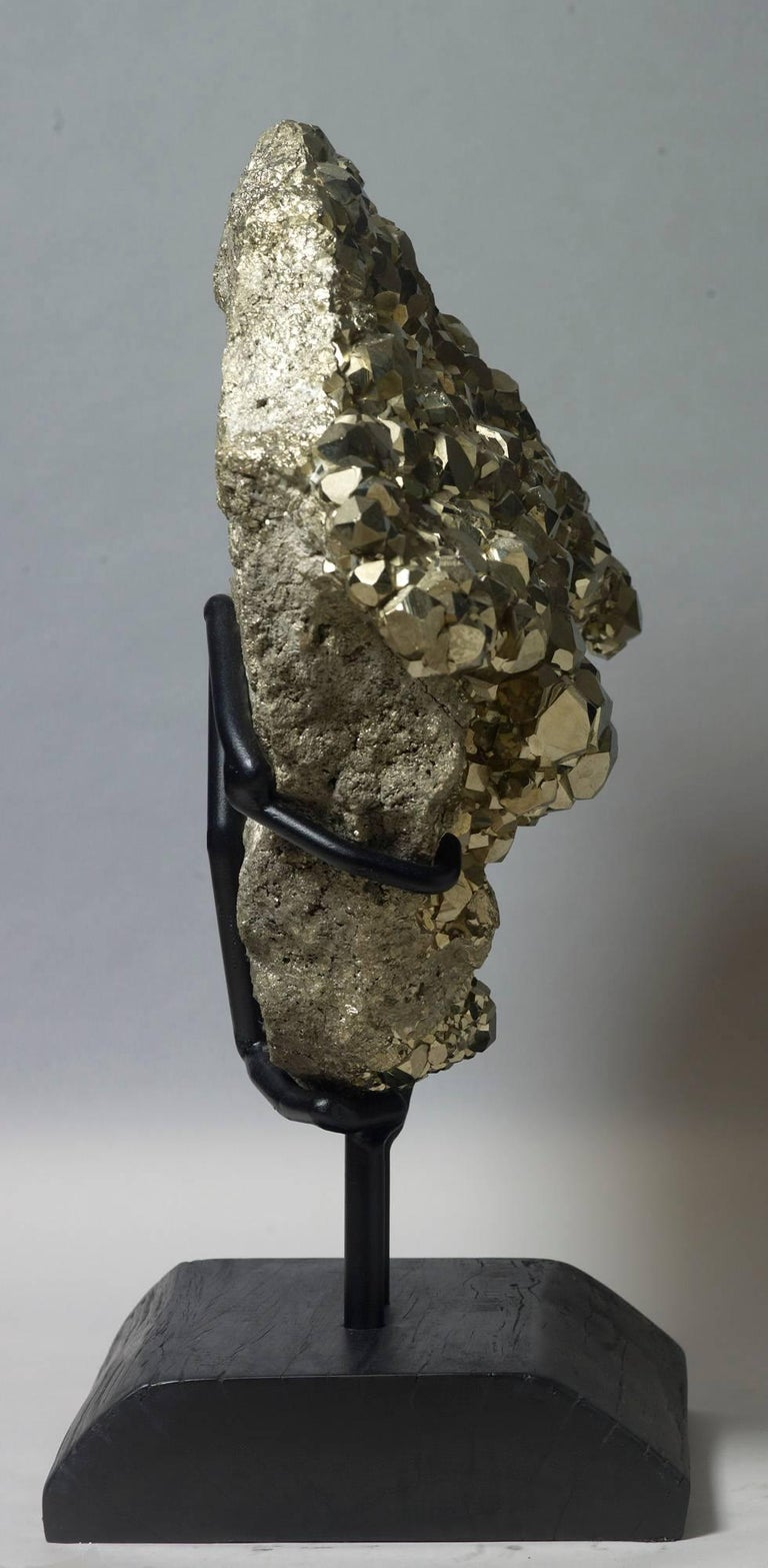 18th Century and Earlier Dodecahedral Pyrite For Sale