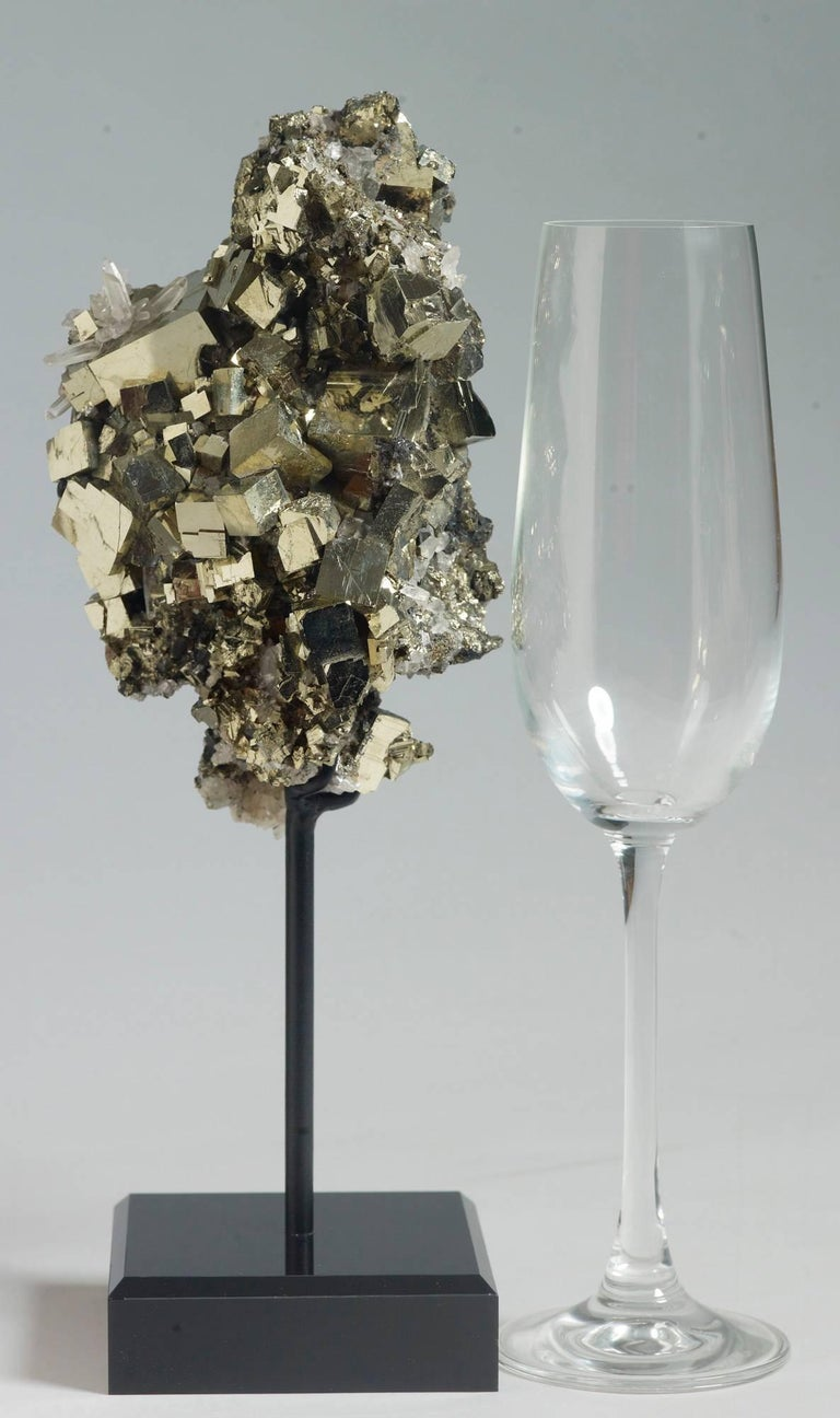 Peruvian Pyrite and Quartz Crystals For Sale