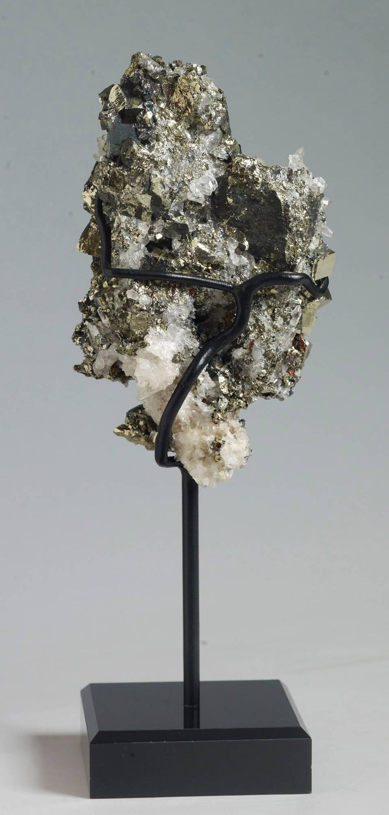 18th Century and Earlier Pyrite and Quartz Crystals For Sale