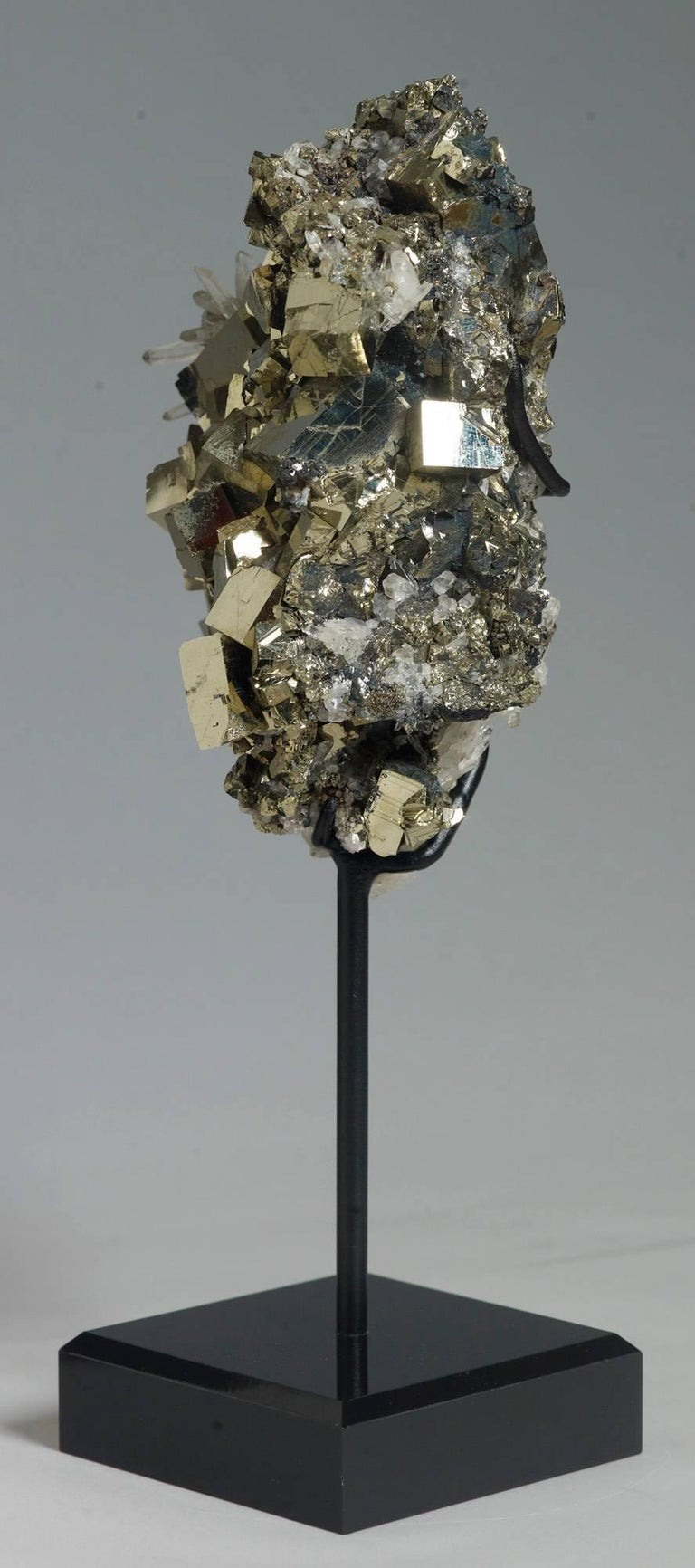Pyrite and Quartz Crystals For Sale 2