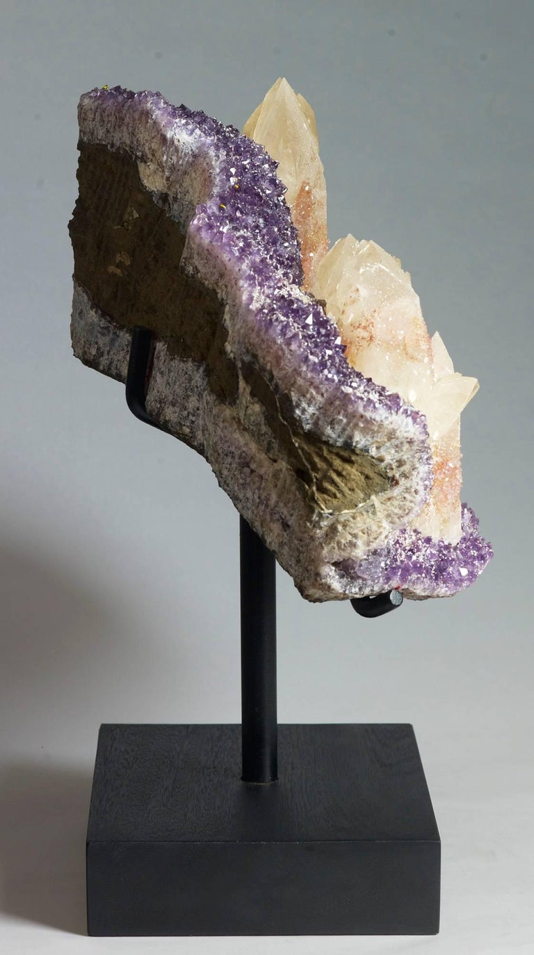 18th Century and Earlier Calcite, Quartz and Amethyst Crystals For Sale