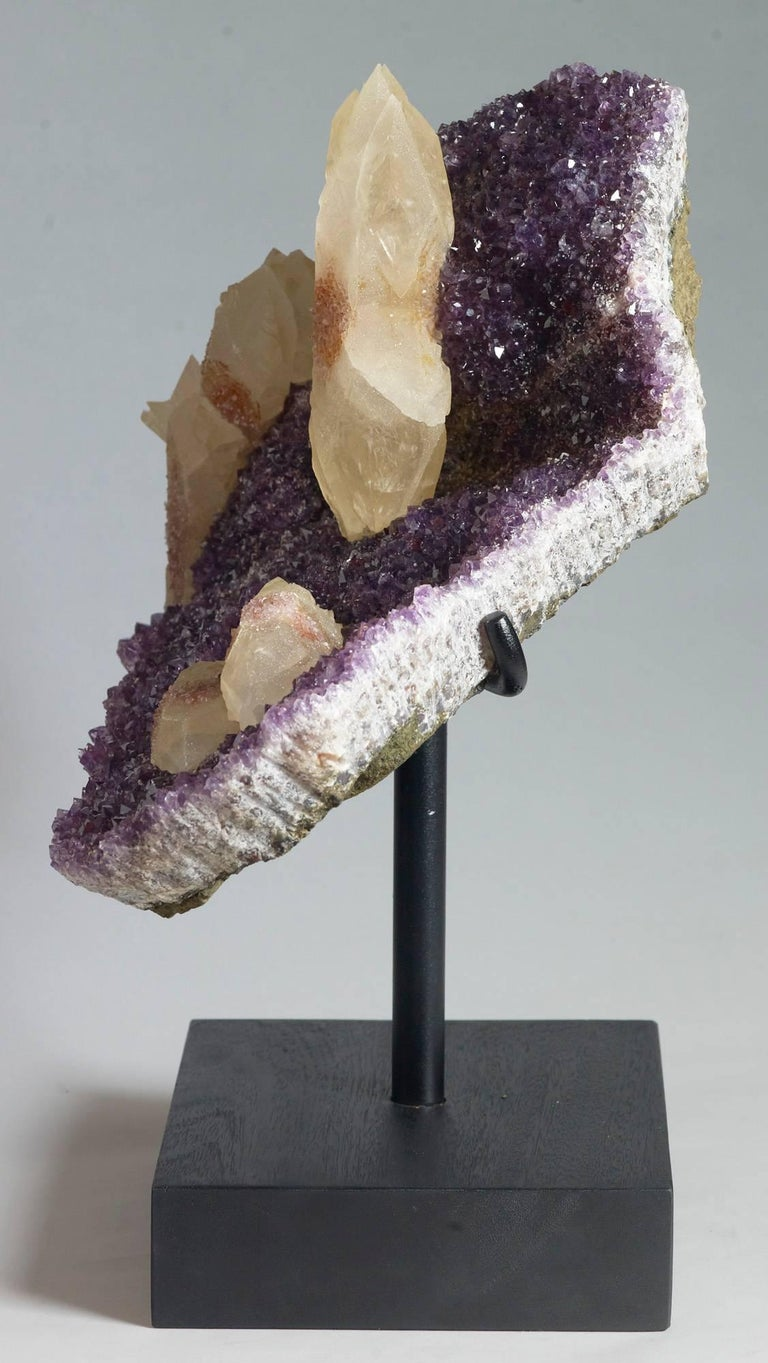 Calcite, Quartz and Amethyst Crystals For Sale 2