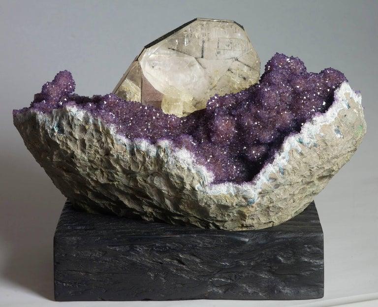 Uruguayan Amethyst and Calcite