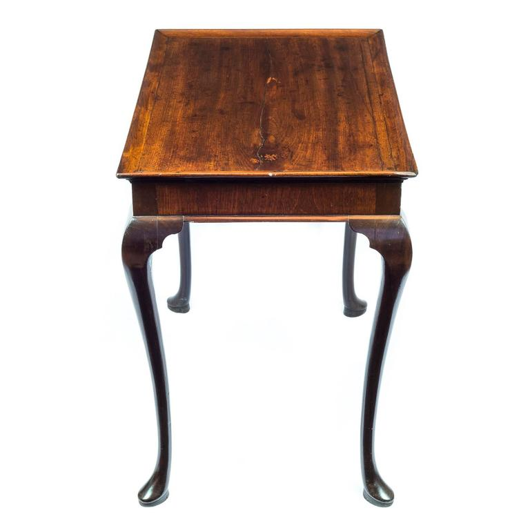 English 18th Century Georgian Chippendale Mahogany Tray-Top Table In Good Condition For Sale In London, GB