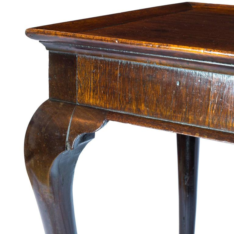 English 18th Century Georgian Chippendale Mahogany Tray-Top Table For Sale 2