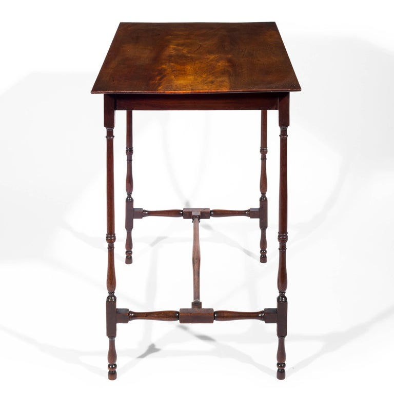 18th century english george iii chippendale spider leg lamp table