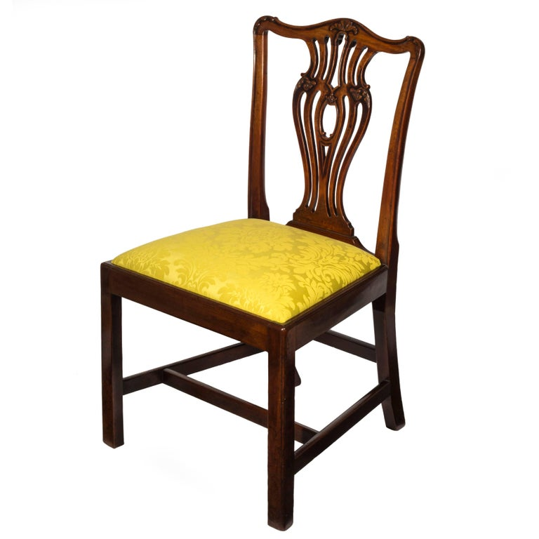 Chippendale Dining Room Chairs For Sale