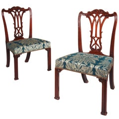 Pair of 18th Century Gothic Chairs